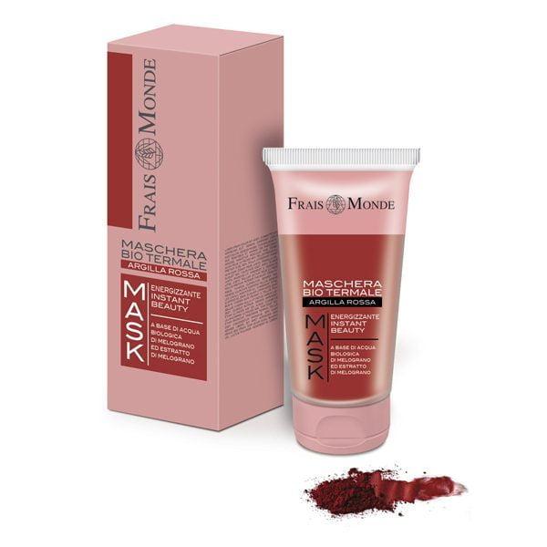 Maschera Viso Energizzante Instant Beauty - Argilla Rossa