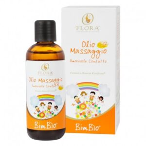 Olio da massaggio bimbio