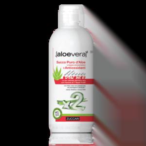 Succo puro d'aloe' a doppia concentrazione + antiossidanti